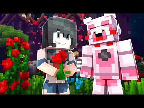Funtime Foxy Is In love With Yandere?! (Minecraft Daycare Roleplay)