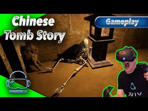 Chinese Tomb Story - Die Horror-Grabstätte [Let's Play][Gameplay][German][HTC Vive][Virtual Reality]
