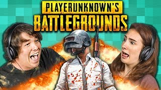 TEENS & COLLEGE KIDS PLAY BATTLEGROUNDS (React: Gaming)