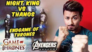 NIGHT KING Vs THANOS Fight | Russo Brother's NEW Post | Avengers Endgame | Game Of Thrones 8