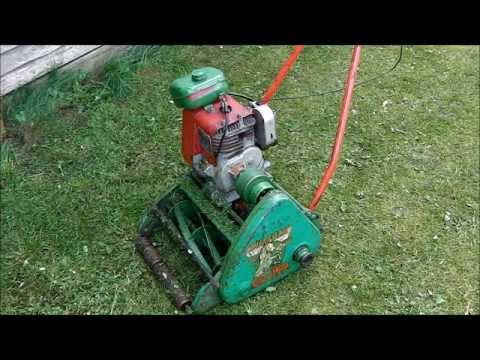 Suffolk Colt Vintage Lawn Mower