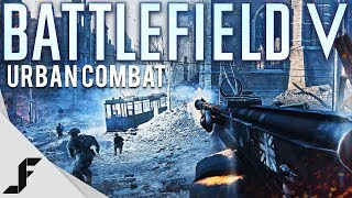 Battlefield 5 Fighting in a Ruined City