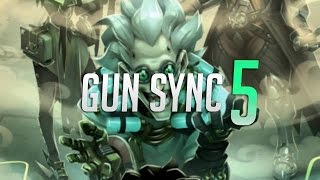 OVERWATCH GUN SYNC #5 - Spooky scary skeleton ( Happy Halloween )