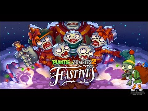 Plants vs Zombies 2 Christmas Pinata! Holiday Surprises #10