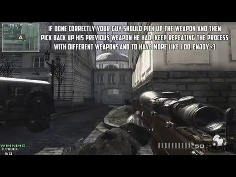 Modern Warfare 3 (MW3) Glitches - *NEW* All Guns Glitch! (Tutorial