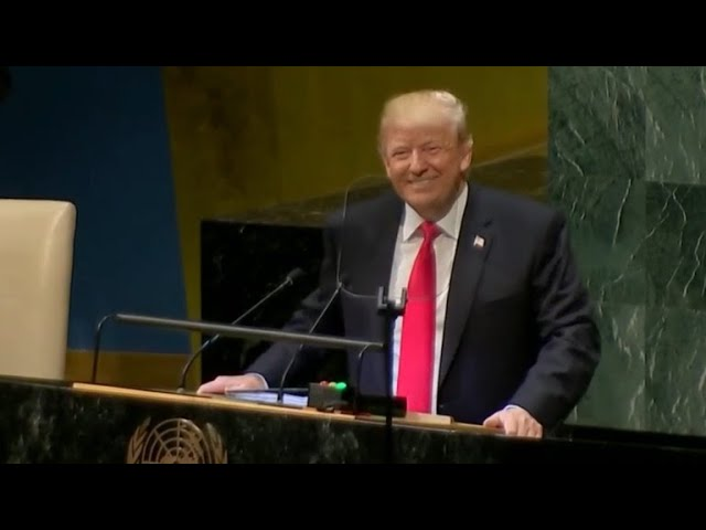 "Trump doubles down on ""America First"" agenda at United Nations"