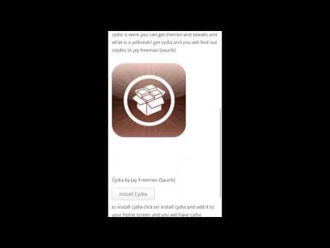 1# tutorial come scaricare cydia senza jailbreak e senza computer
