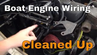 How To Boat Engine Wiring Harness Installed Bayliner Bowrider 175