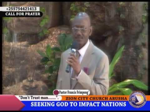 SUNDAY SERMON PREACHING PASTOR FRANCIS FRIMPONG'.(16 OCTOBER 2011).