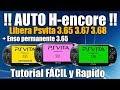 Auto H Encore Libera PSvita 3 65 3 67 3 68 FACILMENTE Todas Las Versiones mp3