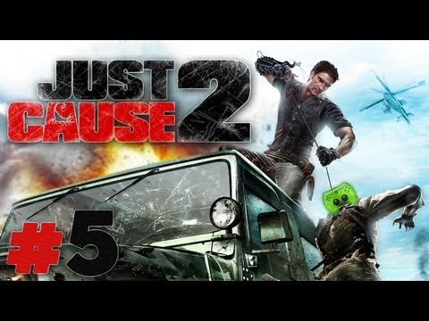 Let's Play Just Cause 2 #05 [Deutsch/Full-HD] - Chaotische Inseltour