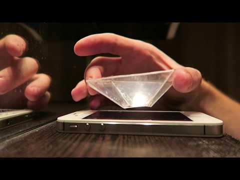 Голограмма на смартфоне своими руками 5