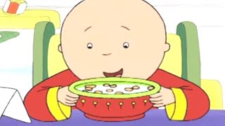 Funny Animated Cartoons 🥄 Caillou Loves Cereals 🥄 Caillou Holiday Movie | Cartoons for Kids