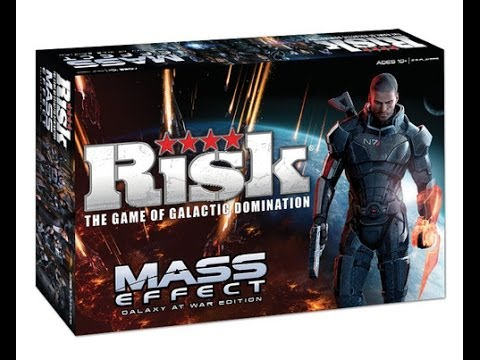 RISK: Mass Effect review - Board Game Brawl