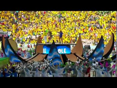 Pitbull ft. Jennifer Lopez - We Are One [Open Ceremony World Cup Brazil 2014]