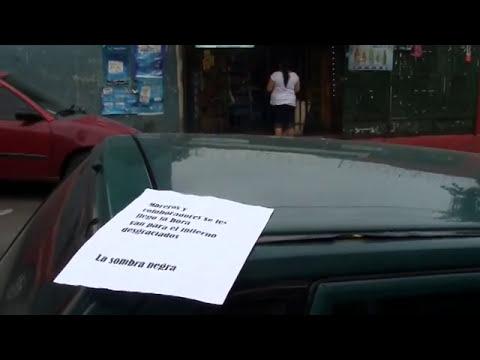 Encuentran panfletos con amenazas a pandilleros