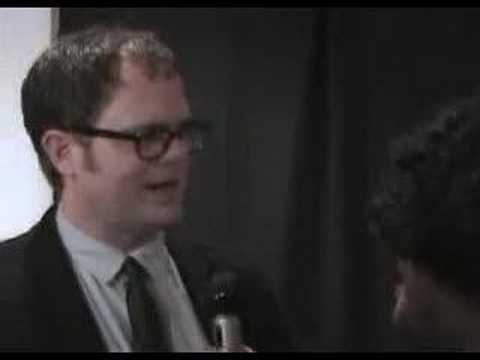 Midnight with Neshia Red Carpet Encounters: Rainn Wilson
