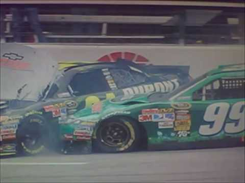 2010 Samsung Mobile 500 - Multi-Car Crash - Call by PRN Video