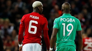 Pogba faced his brother Emotional Europa League