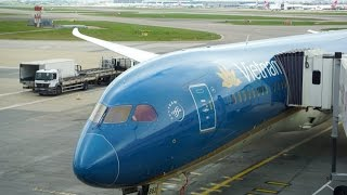 VIETNAM AIRLINES ,  B787-9 ,  BUSINESS CLASS  , VN50 , London LHR to Ho Chi Minh SGN
