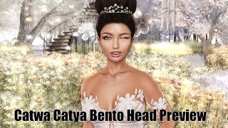 Catwa Catya Bento Head Preview in Second Life