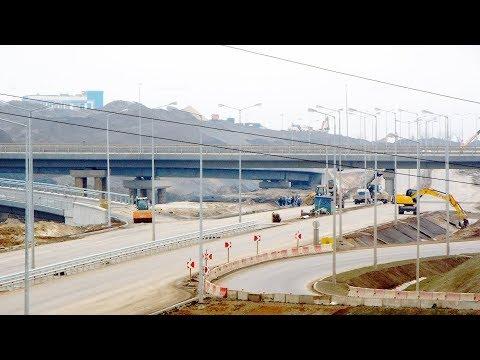 Подходы к Крымскому мосту 4 марта 2018