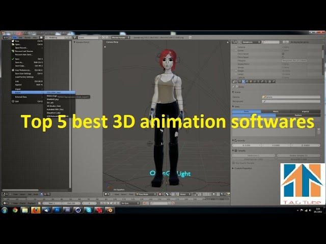 Top 5 Best 3D Animation Softwares thumbnail