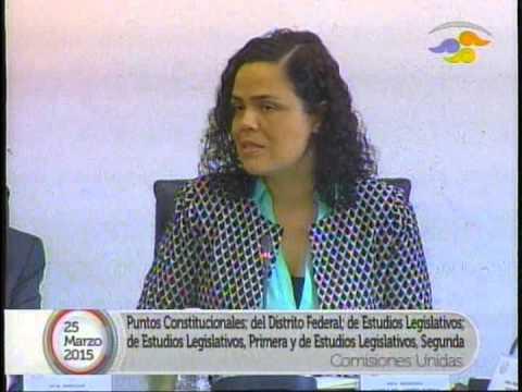 Reunión de comisiones unidas para analizar la Reforma Política del Distrito Federal