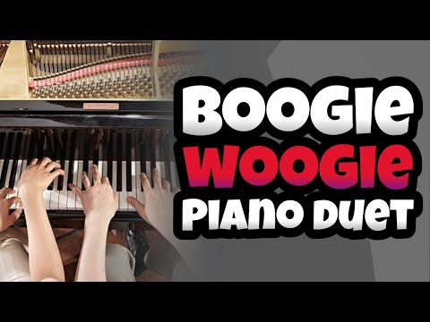 King Of Boogie : Boogie Woogie Piano Duet video