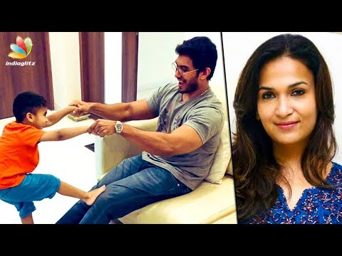 CUTE : Daddy's Play Time with Ved   Soundarya Rajinikanth & Vishagan   Hot News thumbnail