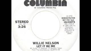 Watch Willie Nelson Let It Be Me video