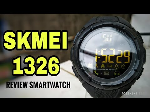 SKMEI 1326 Smartwatch - Unboxing Review Setting Indonesia