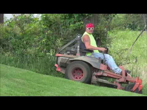 KUBOTA CRASH ~ vlog - lawn care - lawn service - mowing