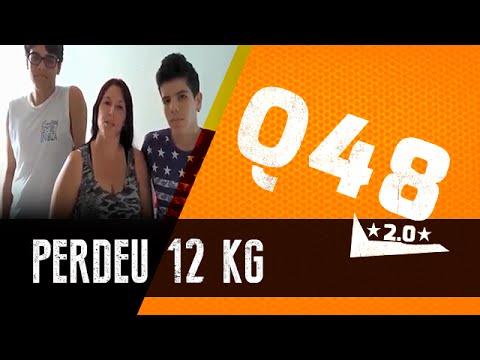 Q48 ajudou esta familia a perder 12kg de gordura | Vinícius Possebon