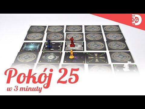 Pokój 25 - prezentacja gry (planszówki w 3 minuty)