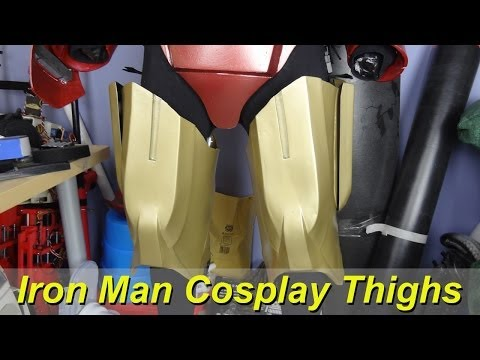 XRobots - Iron Man Cosplay Boots & Legs Revisited PART 2, for my lifesized costume suit