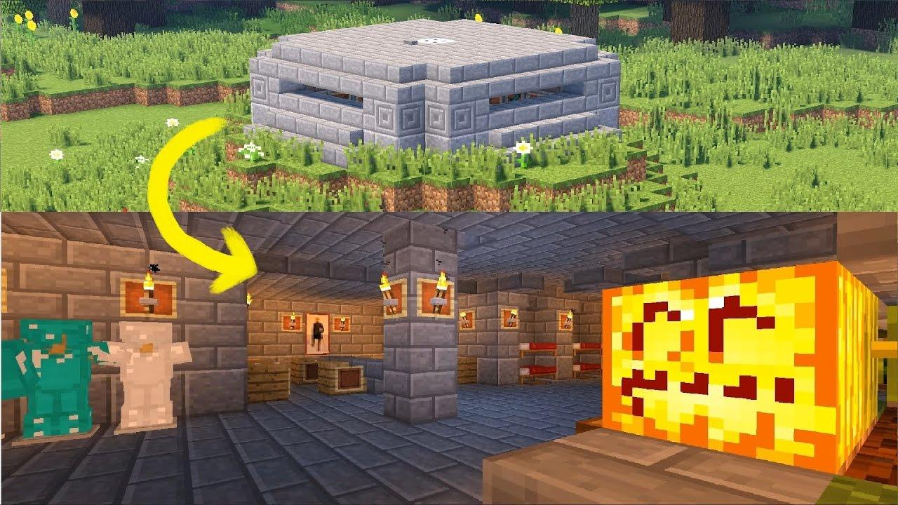 Как построить ВОЕННЫЙ БУНКЕР В MINECRAFT! ВПЕРВЫЕ НА ЮТУБЕ! - YouTube
