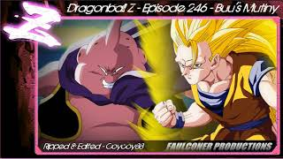 Dragonball Z - Episode 246 - Buu's Mutiny - [Faulconer Background Music Only]