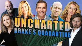 Uncharted: Drake's Quarantine | Cast Reunion with Nolan North