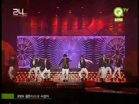 [091210][hd] Super Junior Sorry Sorry Remix  Golden Disk Award 2009 video