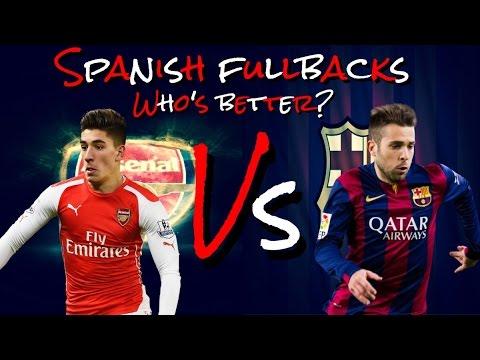 JORDI ALBA vs HECTOR BELLERIN - SPANISH FULLBACKS - WHO'S BETTER? -