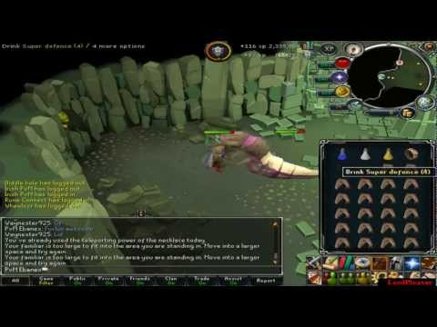 Runescape: Mature Grotworm Killing Guide - 500k-800k gp p/h With Commentary