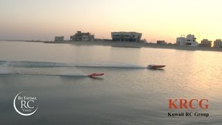 PART 2 - Kuwait RC Boat Drag Race - بطولة دراق للقوارب اللاسلكية الثانية