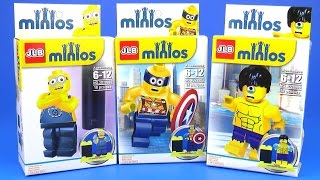 Minions Lego Minifigures Surprise Despicable Me