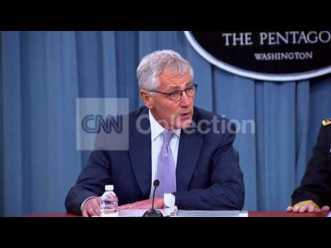 PENTAGON BRFG:HAGEL- WALKUP