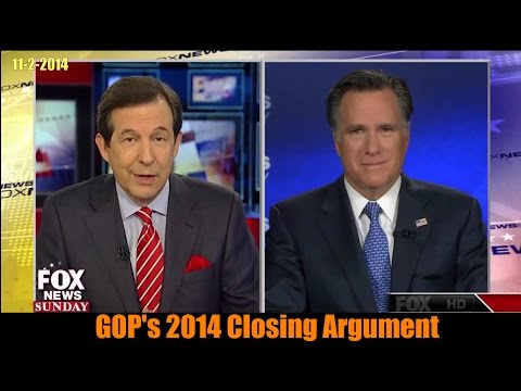 Mitt Romney Makes GOP's 2014 Closing Argument