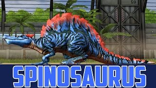Lvl 40 Spinosaurus  - Jurassic World The Game