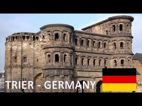 Trier in Germany Tourism Tourismus - Trèves - Germany's oldest Town - Deutschland Travel Trèves