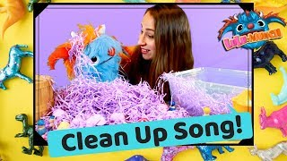 Clean Up Song for Kids and Toddler   Educational Videos for Children by Lulu and Munch