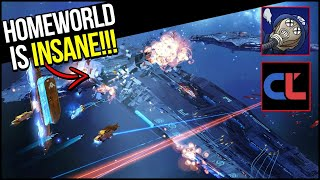 FIRST TIME playing HOMEWORLD with Developer!! | Ft. Templin Institute & CoreyLoses
